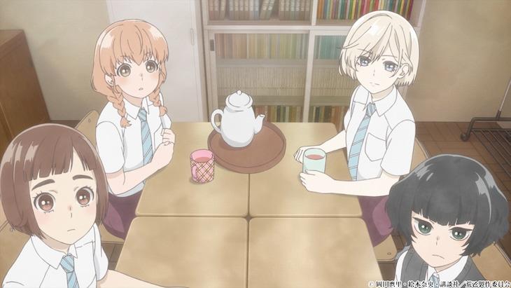 アニメ「荒ぶる季節の乙女どもよ。」第2弾PVより。