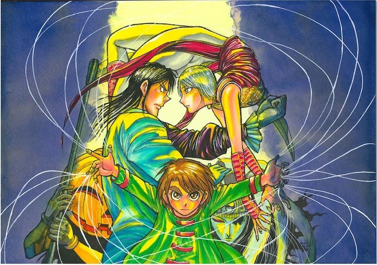藤田和日郎が描き下ろしたサウンドトラックのジャケットイラスト。(c)藤田和日郎・小学館