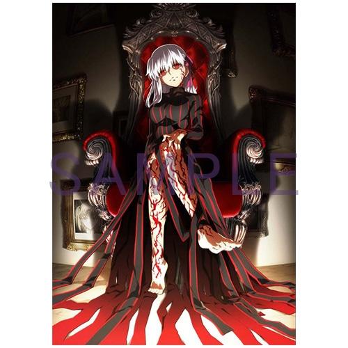 ANIPLEX+購入特典の「アニメ描き下ろしA3キャンバスカード」。