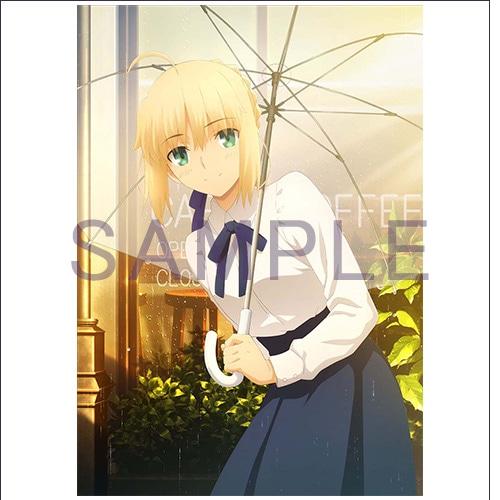 ソフマップ購入特典の「アニメ描き下ろしB2タペストリー」。