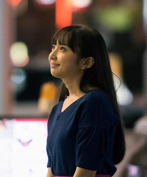 ミズキ役の小宮有紗。
