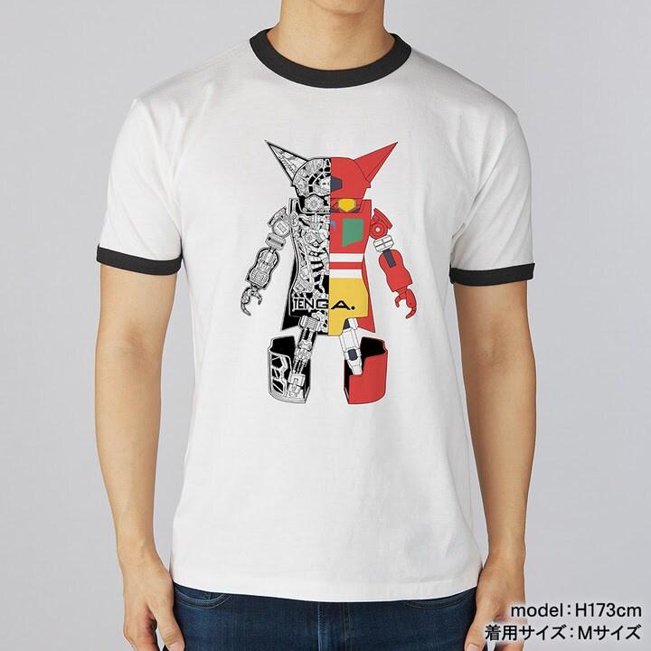 「TENGA ROBO Tee【GETTER ROBOT Collaboration】(ホワイト)」(c)永井豪・石川賢/ダイナミック企画 (c)TENGA ROBO