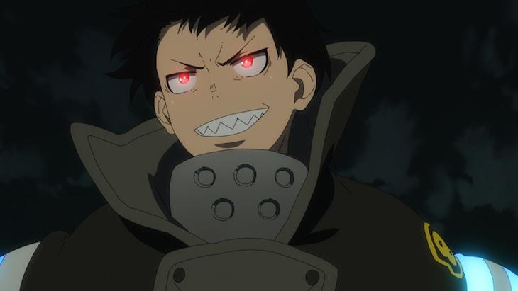アニメ「炎炎ノ消防隊」ノンクレジットオープニング映像より。