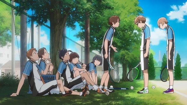 TVアニメ「星合の空」PV第2弾より。