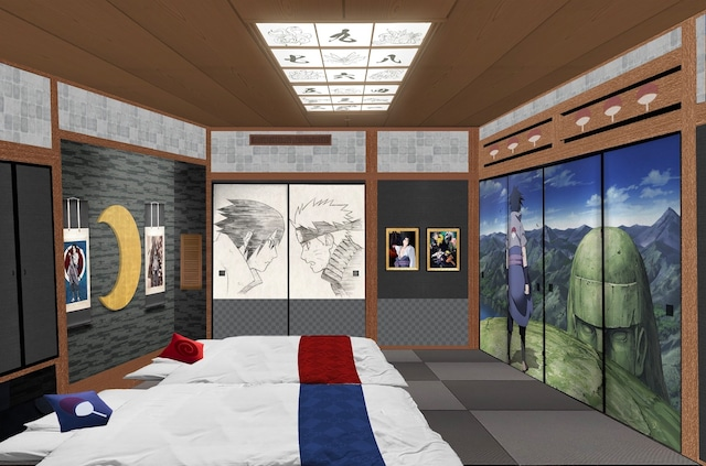 ハイランドリゾートホテル&スパに登場する和室「ジャパニーズスイートルームNARUTO」のイメージ。