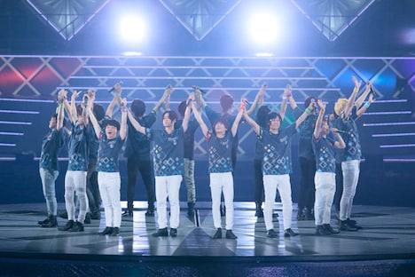 「アイドリッシュセブン 2nd LIVE『REUNION』」の様子。