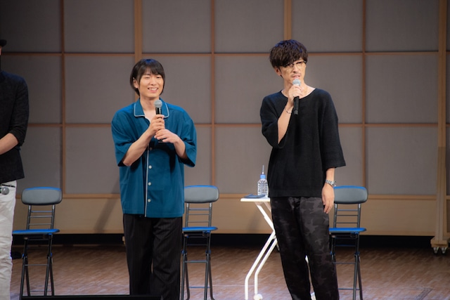 左から伊藤節生、櫻井孝宏。