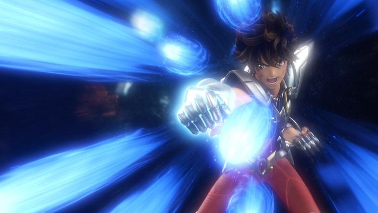 アニメ「聖闘士星矢: Knights of the Zodiac」の日本語版本予告映像より。