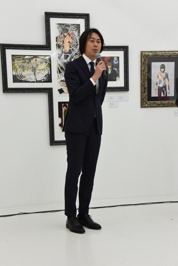 小畑健担当編集の吉田幸司氏。