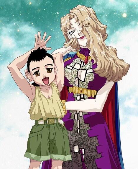 アニメ「天地無用!魎皇鬼」第伍期のビジュアル。