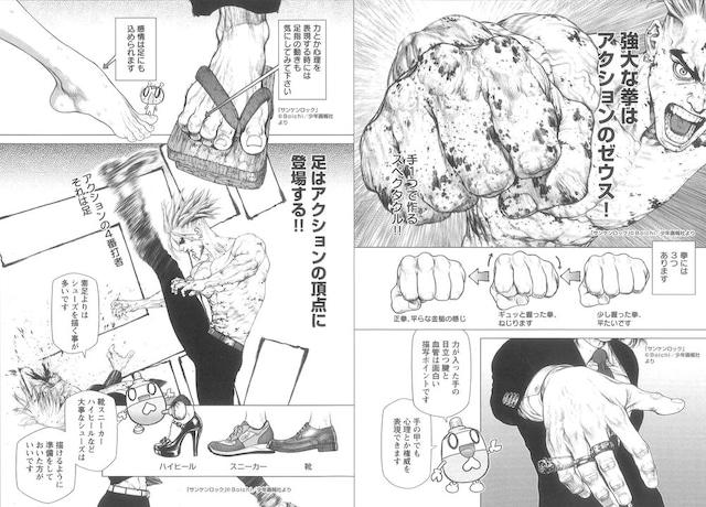 「カッコイイ男キャラクター漫画教室!」より。