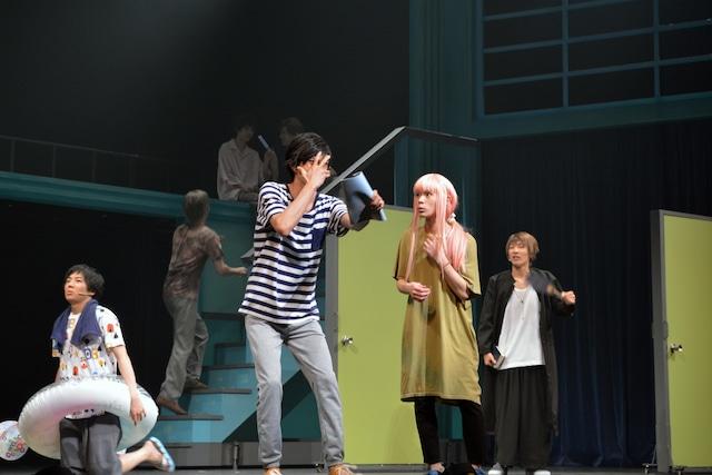 舞台「SCHOOL STAGE『ここはグリーン・ウッド』」公開ゲネプロより。