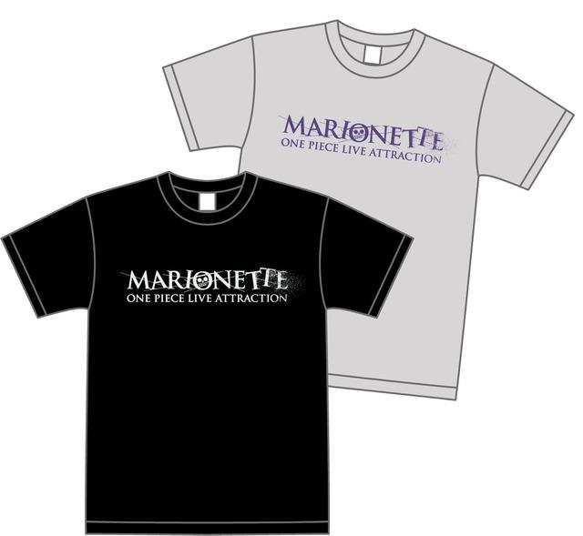 「MARIONETTEロゴTシャツ」