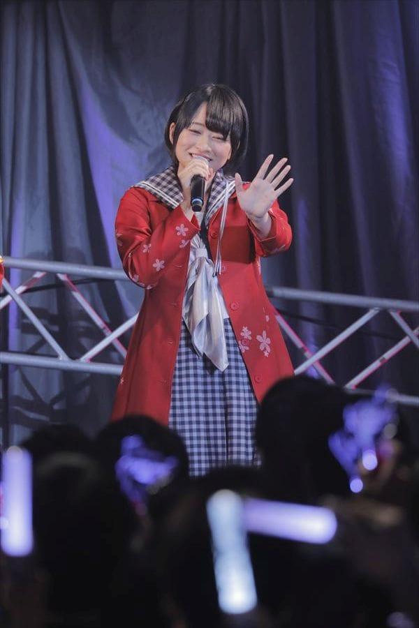 紺野純子役の河瀬茉希。