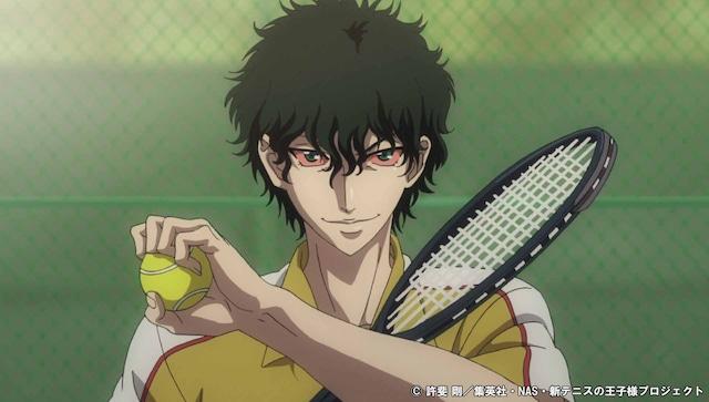 「テニスの王子様 BEST GAMES!! 不二 vs 切原」のPVより。