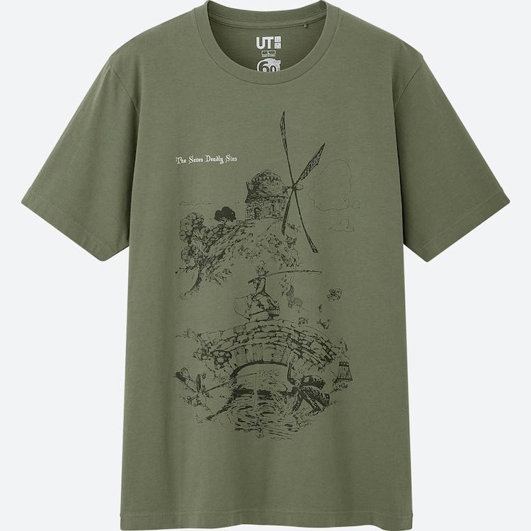 「七つの大罪」Tシャツ(c)鈴木央/講談社