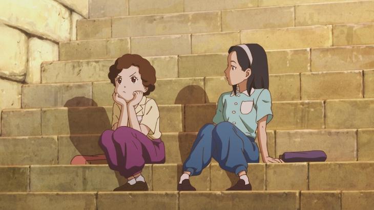 「アニメ 大好きだったあなたへ~ヒバクシャからの手紙~」より。