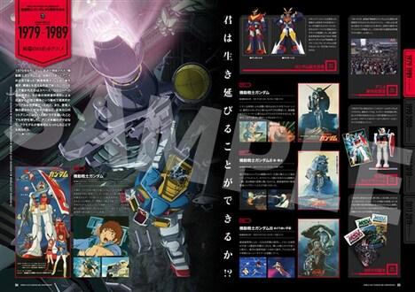 「機動戦士ガンダム40周年記念オフィシャルブック」より。