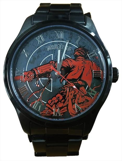 「捨てがまり腕時計」