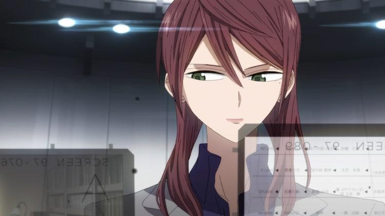 アニメ「ID:INVADED イド:インヴェイデッド」トレーラー第1弾より。