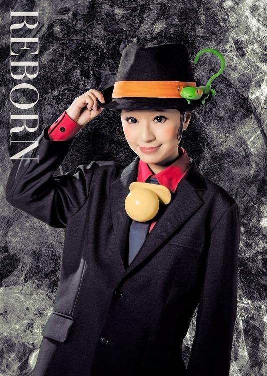 ニーコ扮するリボーン。