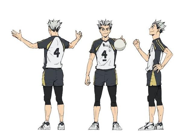 木兎光太郎(CV:木村良平)のキャラクタービジュアル。