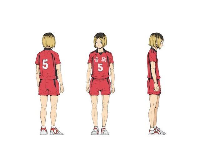 弧爪研磨(CV:梶裕貴)のキャラクタービジュアル。