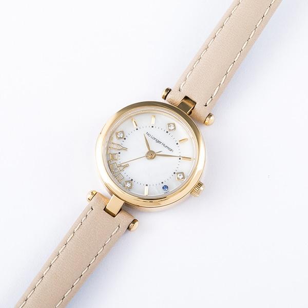 太宰治モデルの腕時計。