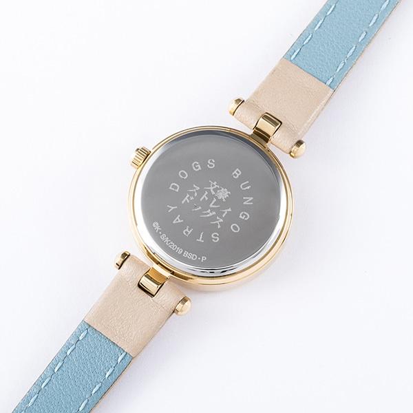 太宰治モデルの腕時計。太宰治モデルの腕時計。