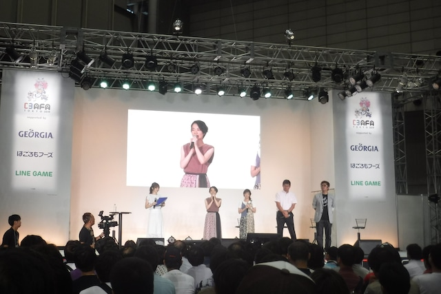 「劇場版『SHIROBAKO』制作会議(仮)vol.2」の模様。