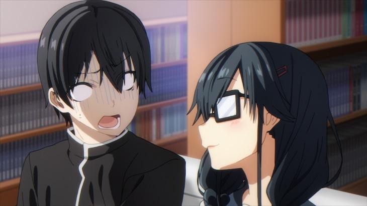 TVアニメ「俺を好きなのはお前だけかよ」新PVより。