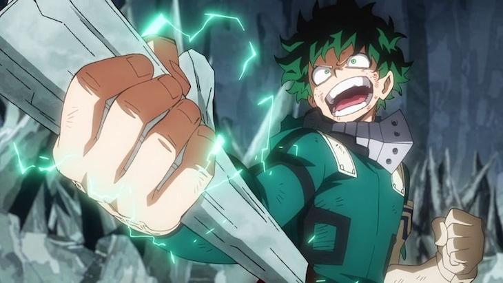 TVアニメ「僕のヒーローアカデミア」第4期の最新PVより。