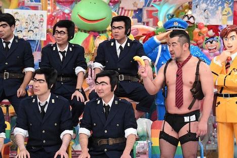 「アメトーーク!」の「こち亀芸人」より。(c)テレビ朝日