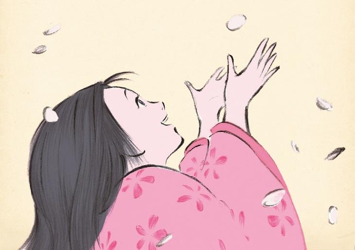 映画「かぐや姫の物語」より。 (c)2013 畑事務所・Studio Ghibli・NDHDMTK