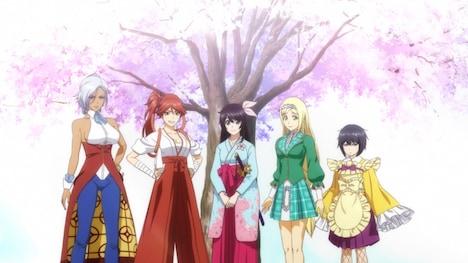 「新サクラ大戦 the Animation」より。(c)SEGA/SAKURA PROJECT