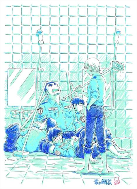 昨年8月に公開された、「警察学校編」のティザーイラスト。