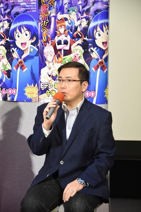 BNピクチャーズの關山晃弘プロデューサー。