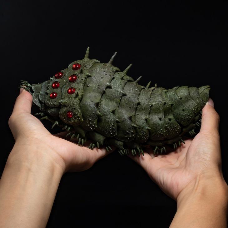 「タケヤ式自在置物 風の谷のナウシカ 王蟲」