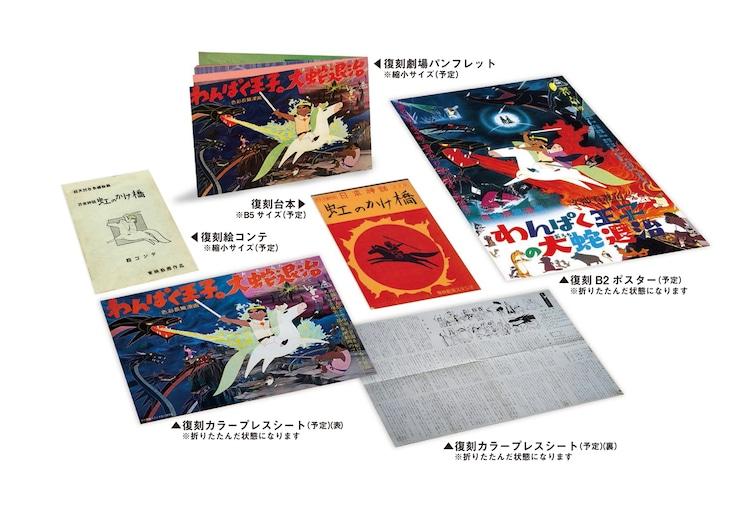 「わんぱく王子の大蛇退治」Blu-ray BOXの特典内容。