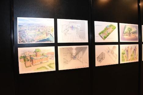 アニメ「BEASTARS」の背景設定画。