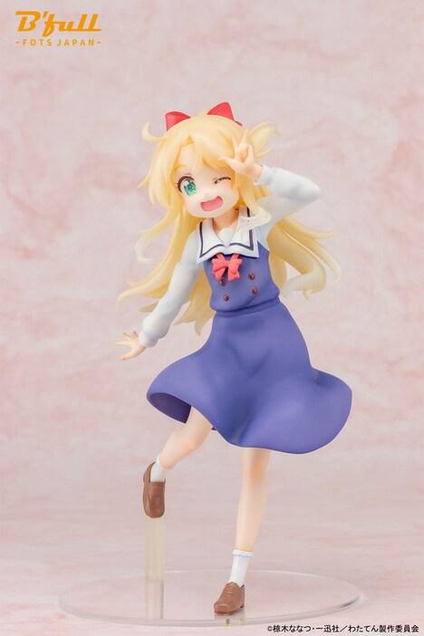 スケールフィギュア「『姫坂乃愛』制服ver」
