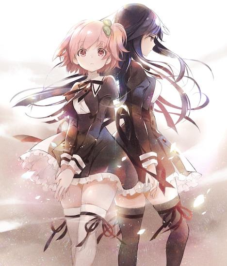 アニメ「アサルトリリィ Bouquet」ティザービジュアル
