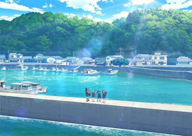 TVアニメ「放課後ていぼう日誌」ティザービジュアル