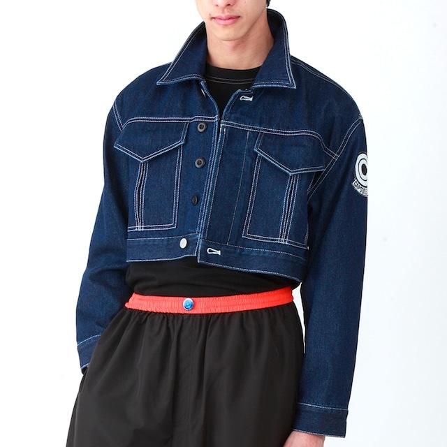 「ドラゴンボールZ トランクス風ジャケット」の着用例。