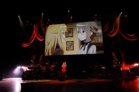 ライブイベント「プリンセス・プリンシパル THE LIVE Yuki Kajiura×Void_Chords」の様子。
