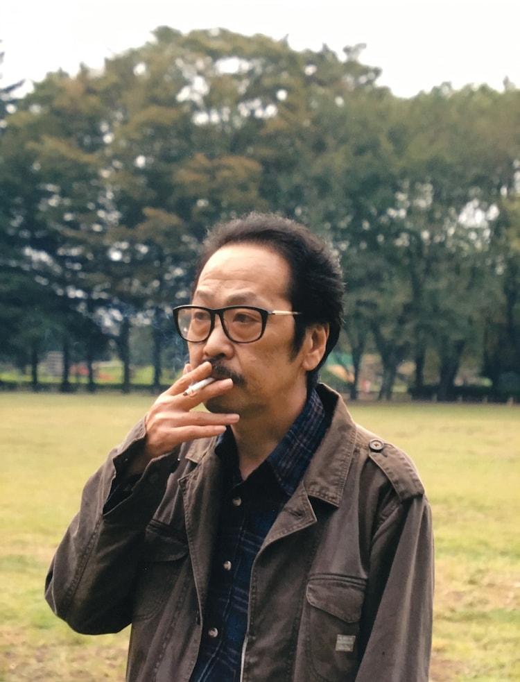 吾妻ひでお(撮影:平塚修二/2006年)