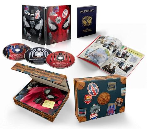 映画「スパイダーマン:ファー・フロム・ホーム」Blu-ray / DVD展開図。