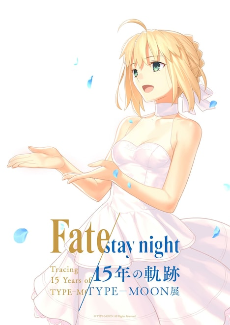 「TYPE-MOON展 Fate/stay night -15年の軌跡-」武内崇描き下ろしビジュアル。