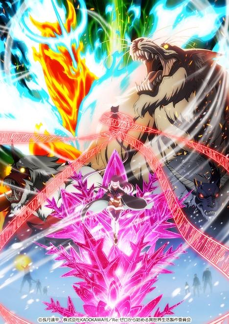 「Re:ゼロから始める異世界生活 氷結の絆」キービジュアル第2弾