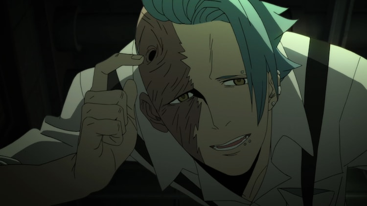 アニメ「ID:INVADED イド:インヴェイデッド」トレーラー第2弾より。